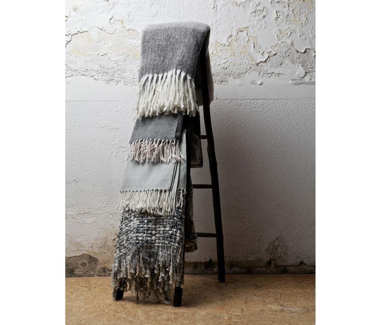 Voorbeeld van BePure Plaid Spine 130x170 cm
