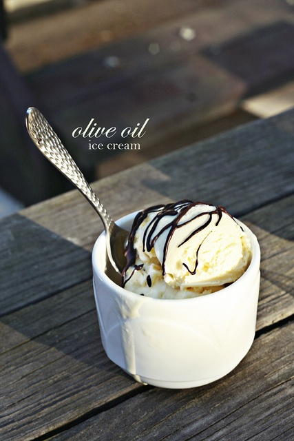 olive oil ice cream | yummy things to eat | Pinterest