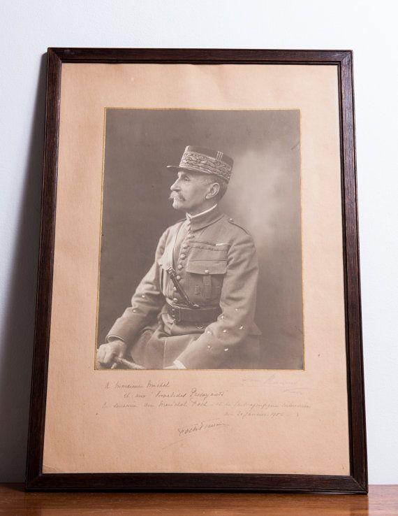 Marshal Ferdinand Foch.