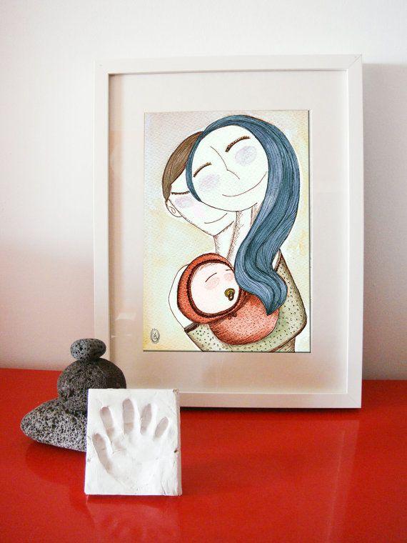 A4 bienvenido al mundo welcome to the world newborn by vireta