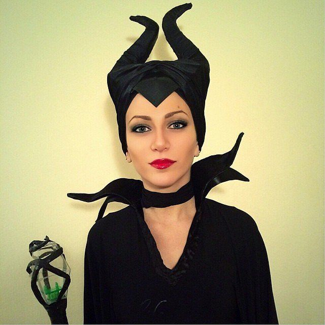 Bold and beautiful Maleficent costume