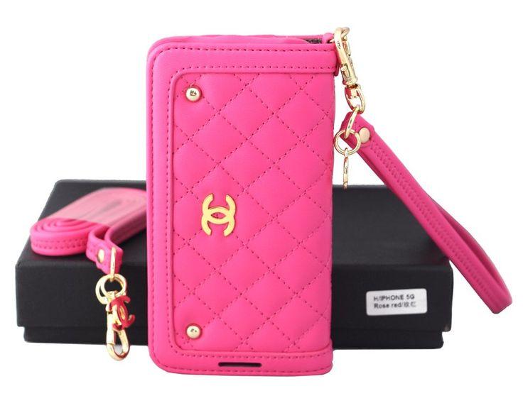 大人気 CHANEL 女性向け iphone6 iphone5/5s iphone5cケース ミラー付き 手帳型 レザー製