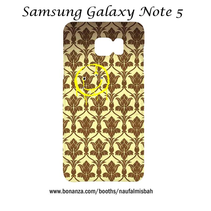 Sherlock Holmes Smiley Wallpaper Samsung Galaxy Note 5 Case