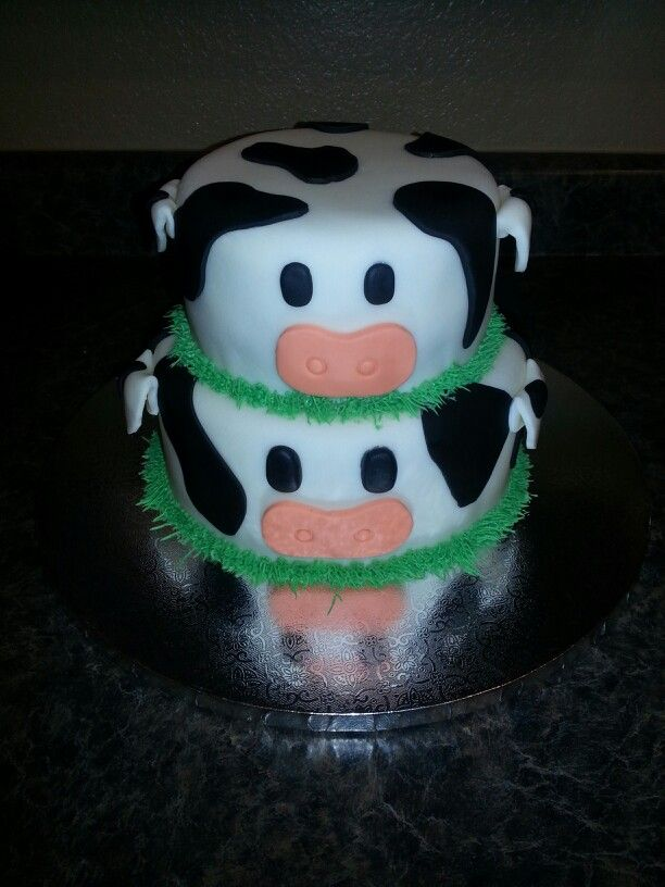 250 Best Cakes Cow Images On Pinterest Cow Cakes Anniversary