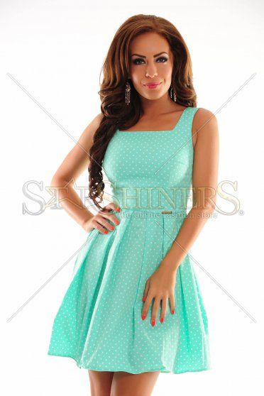 PrettyGirl Suddenly Mint Dress