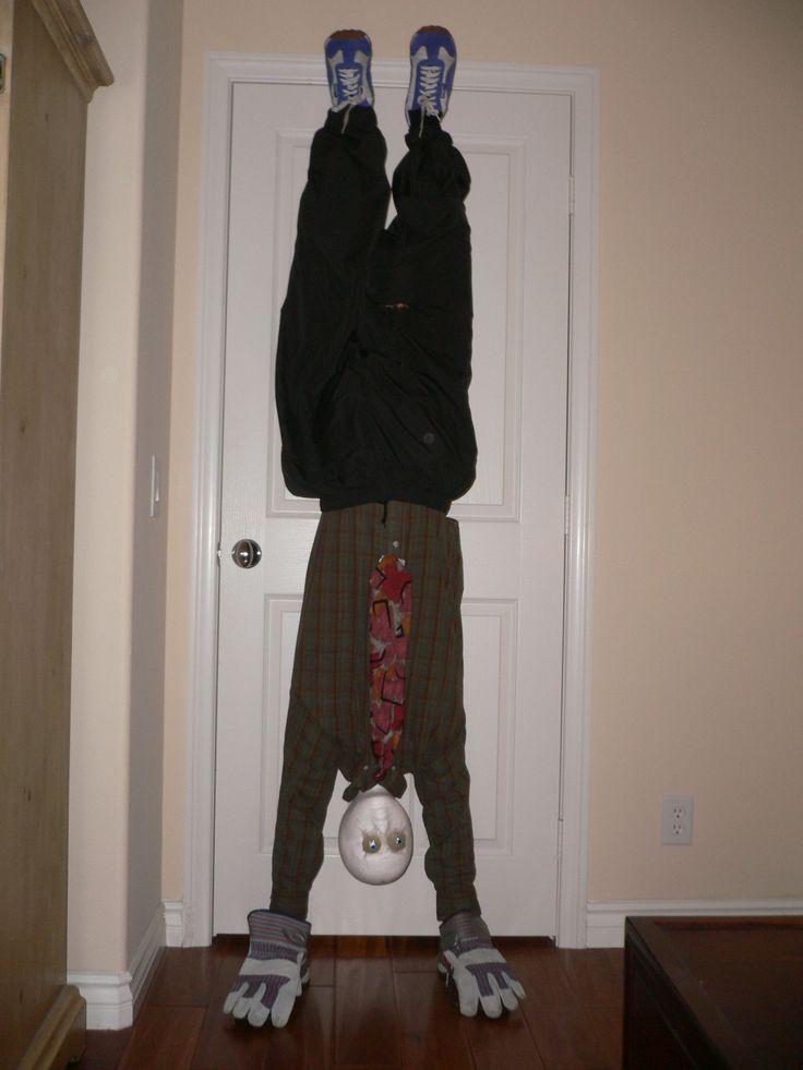 Make An Upside Down Man Costume