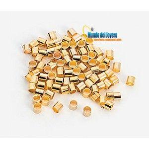 Apretador Dorado 1,5x1,5mm(5 gr)
