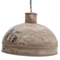 METAL CEILING LAMP IN BEIGE COLOR 49X38/110