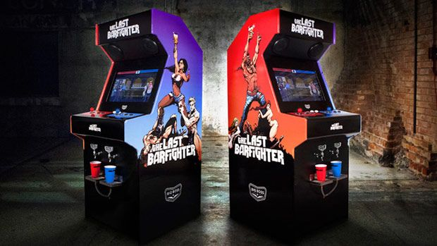 DNP Beercade The Last Barfighter replaces arcade coin slot with beer tap