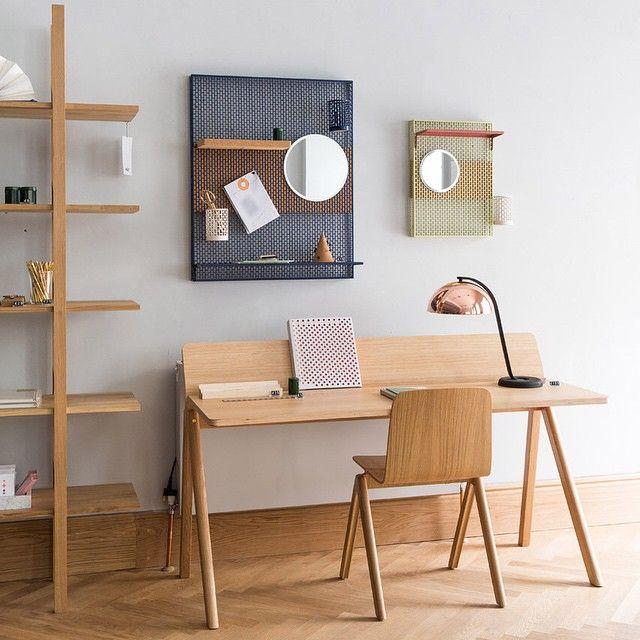 les 50 meilleures images propos de deco bureau sur pinterest industriel bureaux et lampes. Black Bedroom Furniture Sets. Home Design Ideas