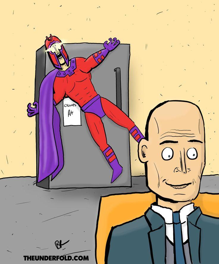 Professor Xavier's Fridge Magneto - The Underfold