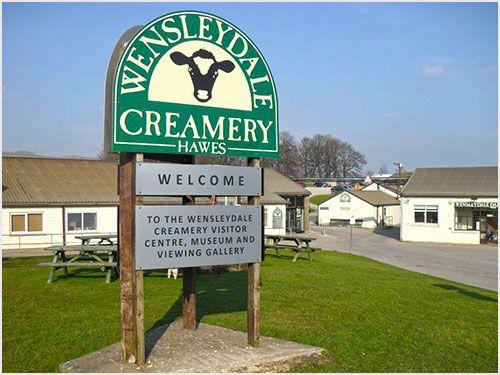 Wensleydale Creamery in Hawes, Yorkshire Dales, England via My Life in Yorkshire