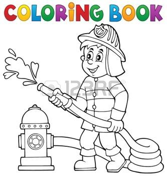 54 best coloring Firefighting images on Pinterest