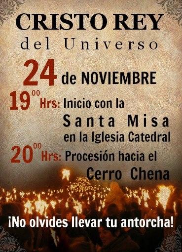 Cristo Rey 2012