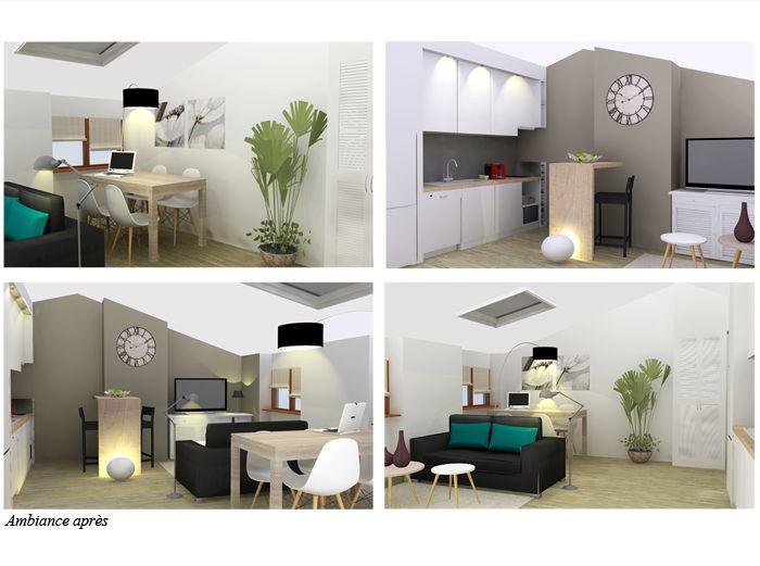 Home staging dun appartement destiné à la vente