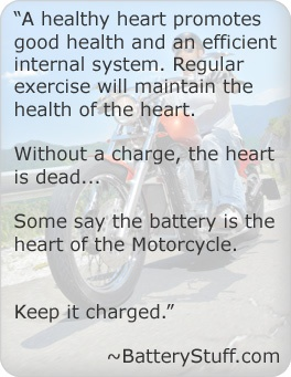It's important to look after the heart of your motorcycle.