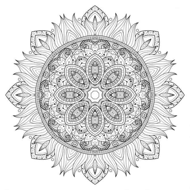 Mandala Vorlage The Maven Circle Mandala Ausmalen Mandala Vorlagen Muster Malvorlagen