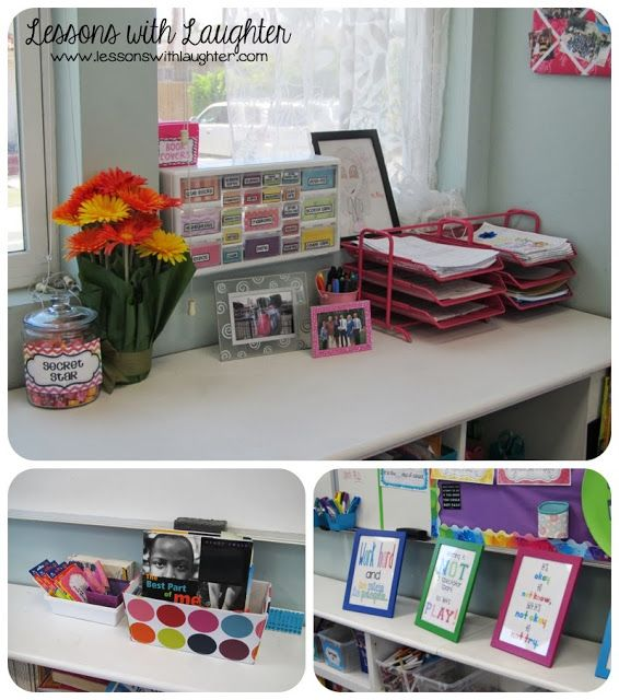 Love the layout of her classroom, so inviting!