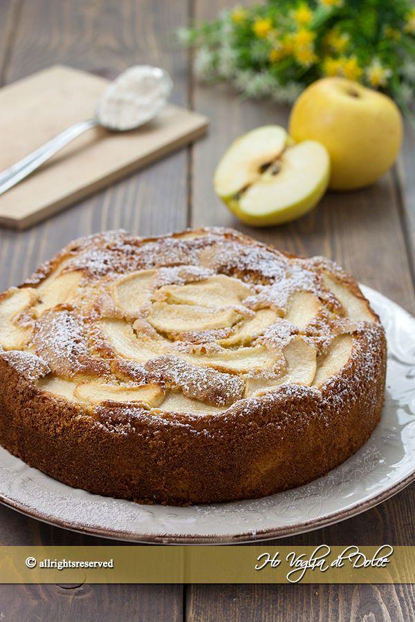Torta 12 cucchiai alle mele ricetta facile e senza bilancia. L'unità di misura sono i cucchiai per un dolce veloce alle mele veloce, soffice e morbido.