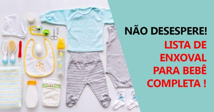 Escolher e comprar o enxoval do bebé é algo que todas as mães, as roupas de bebé são irresistíveis e mesmo com a ajuda de listas acabamos por comprar sempr