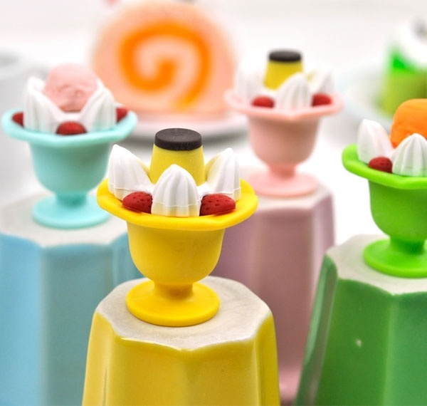 Food Erasers - Parfait Eraser Collection