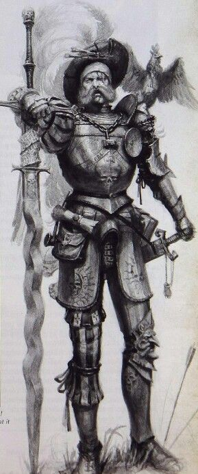 warhammer empire. Looks exactly like a landsknecht besides.