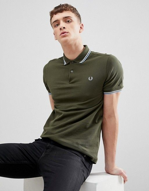 cdc5dce6 Fred Perry Twin Tipped Polo Shirt : Fred Perry Discount | Asos Polo ...
