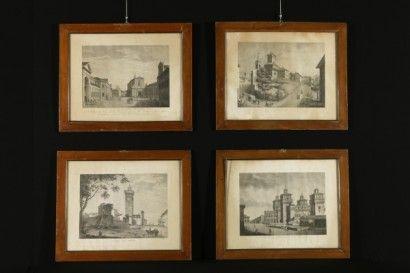 Vedute di Bernardino Rosaspina