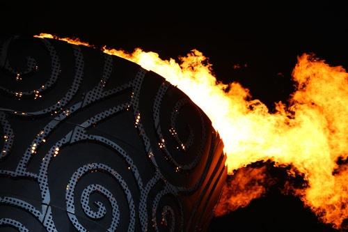 Olympic Cauldron - Closing Ceremony 2008 - Beijing, China