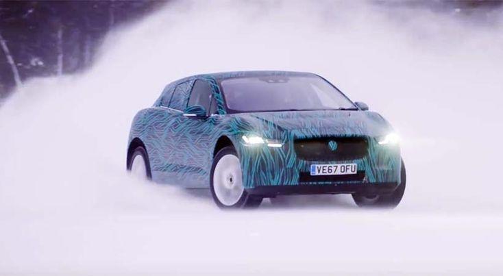 Test Drive Jaguar I-Pace 100% eléctrico en el frío extremo de Suecia - http://autoproyecto.com/2018/01/test-drive-jaguar-i-pace-100-electrico.html?utm_source=PN&utm_medium=Pinterest+AP&utm_campaign=SNAP