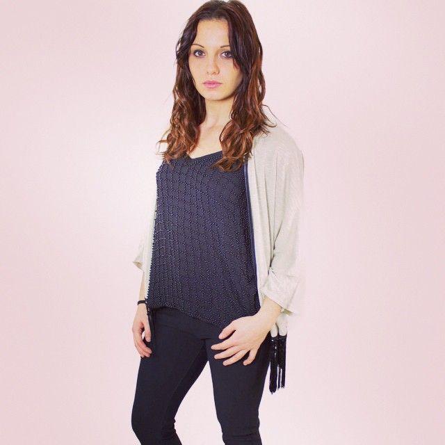 Le total look sur le site bientôt  #zonedachat #fashion #style #girl #mode #femme #ootd #legging #jolie #franges