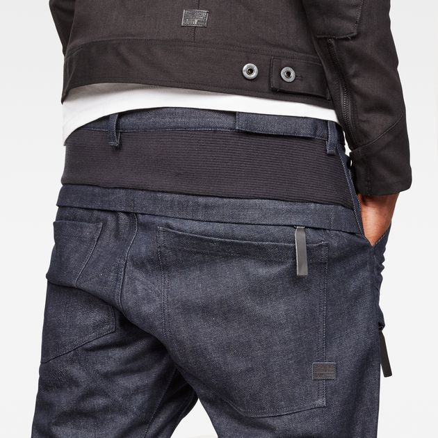 5620 Raw Essentials Motion 3D Tapered Jeans   Tapered jeans