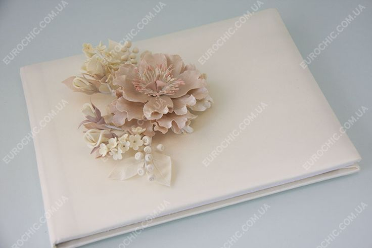 Гостевая книга пожеланий Blush Flower пудровая