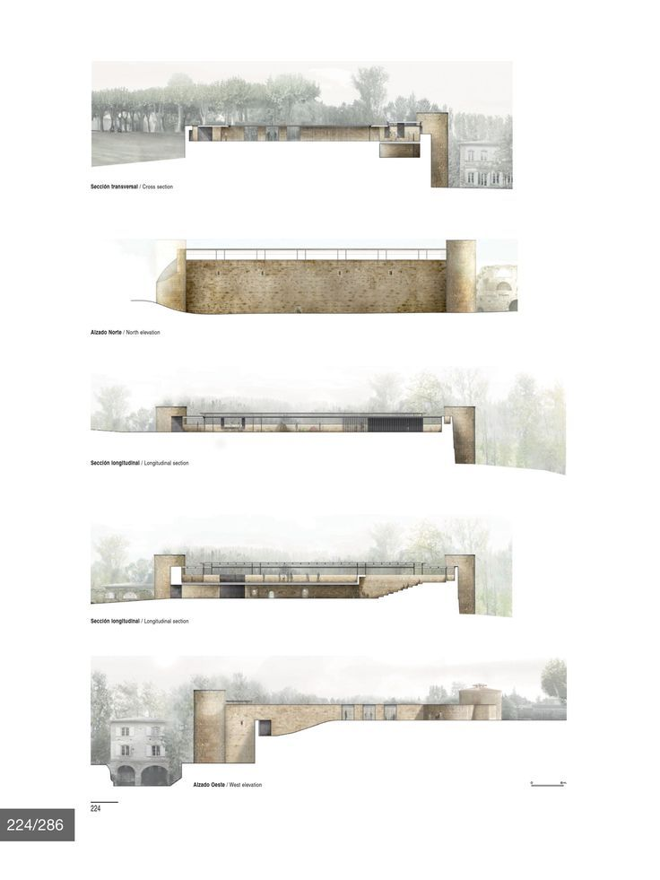 Bildresultat för architecture plan behind cut