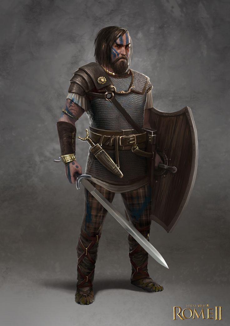 Total War: Rome II - Inceni Champion by telthona.deviantart.com on @DeviantArt