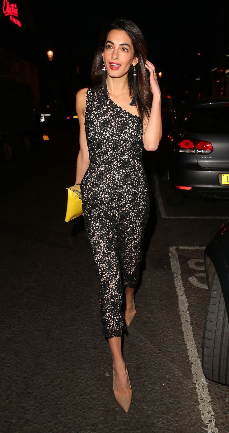 Amal Clooney Continues To Crush The Maternity Wear Game In