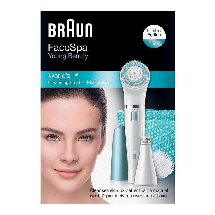 Braun SE832E FaceSpa Epilatör ::