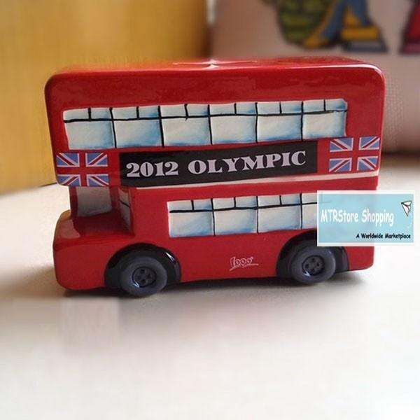 London 2012 Olympics Money Box (Red Double Bus)