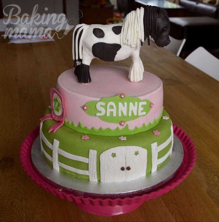 Tinker paard taart. Horse cake