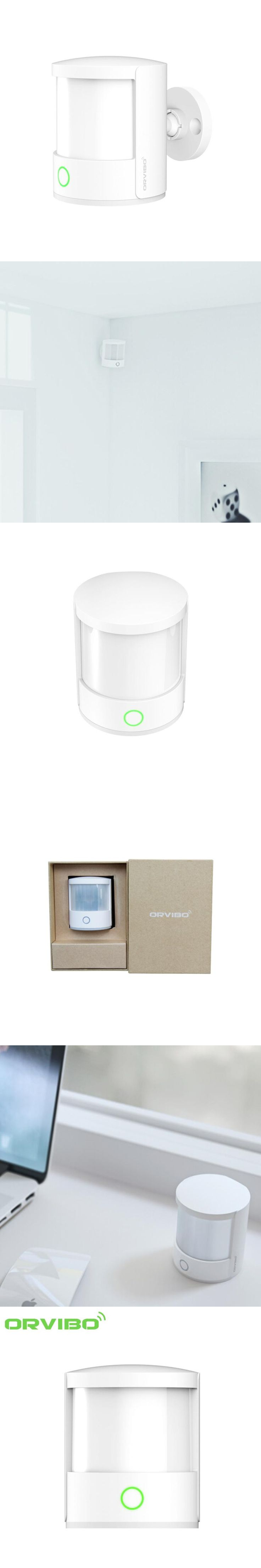 Orvibo ZigBee Smart Home Motion Sensor Smart Home Intelligent Automation Human Pet Movement Sensor Alarm Detector Night Light