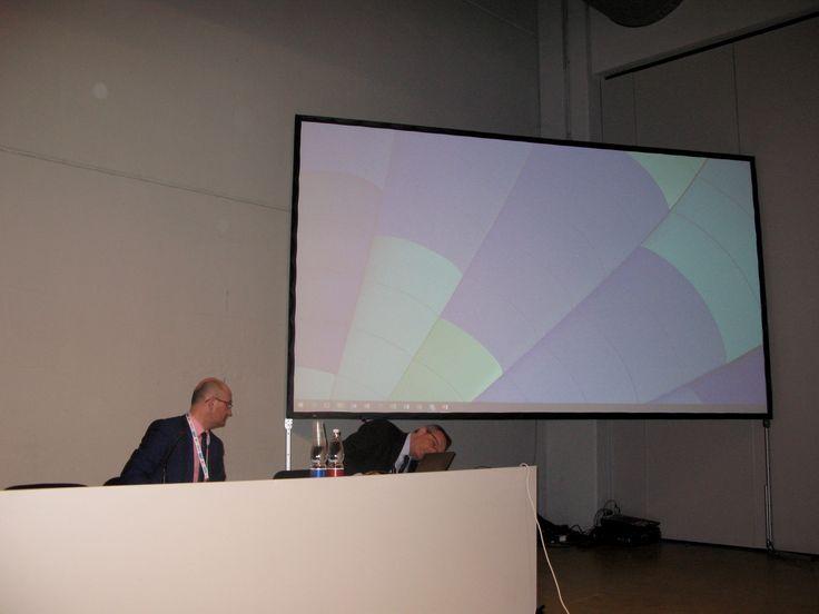 Claudio Zanelli (Marini Bomag Fayat e AILM Emilia Romagna) e Paolo Dotti (Nilfisk Advance)