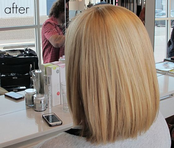 Save time on your hair with bhave Smoothe treatment