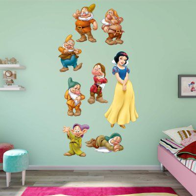 Fathead Snow White And 7 Dwarfs Wall Decal Collection   74 74658 Part 52