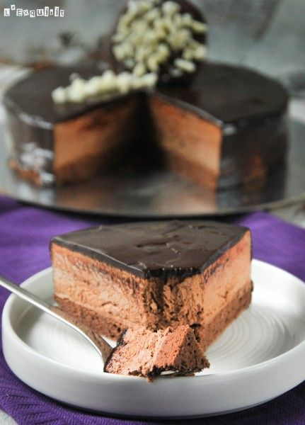Triple pecado de chocolate (formato tarta) - L´Exquisit