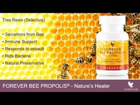 Forever Bee Propolis made by bees consumed by human