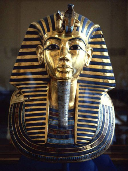 A Pharaoh never let his hair be seen – he would always wear a crown or a headdress called a nemes (the striped cloth headdress made famous by Tutankhamen's golden mask