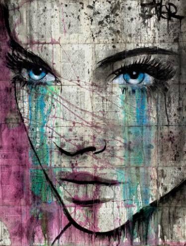 "Saatchi Art Artist Loui Jover; Drawing, ""kashmir"" #art"