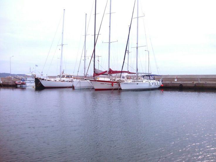 Nikiti's marina