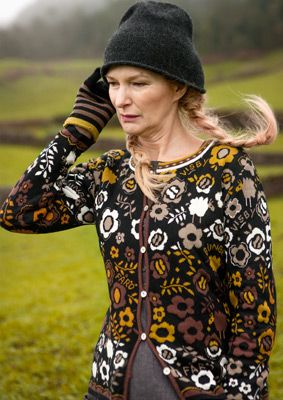 """""""Fårö"""" cotton & wool cardigan – Sweaters & cardigans – GUDRUN SJÖDÉN – Webshop, mail order and boutiques 