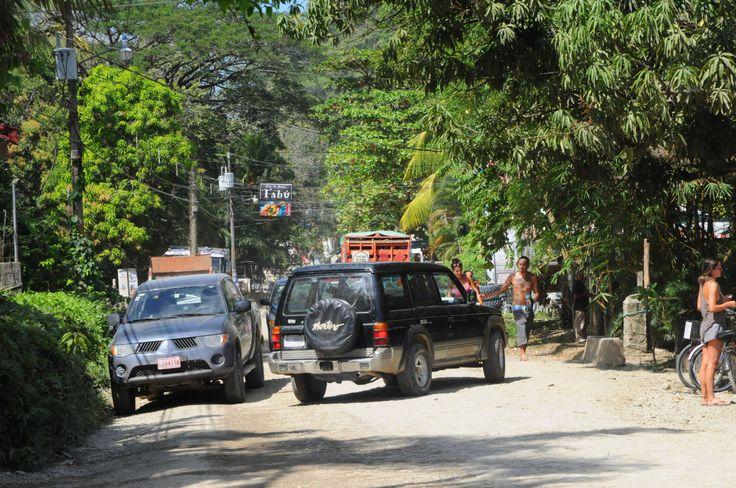 The laid-back town of Santa Teresa, Costa Rica.